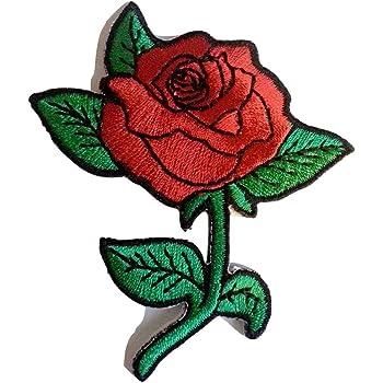 broderie rose pour vans