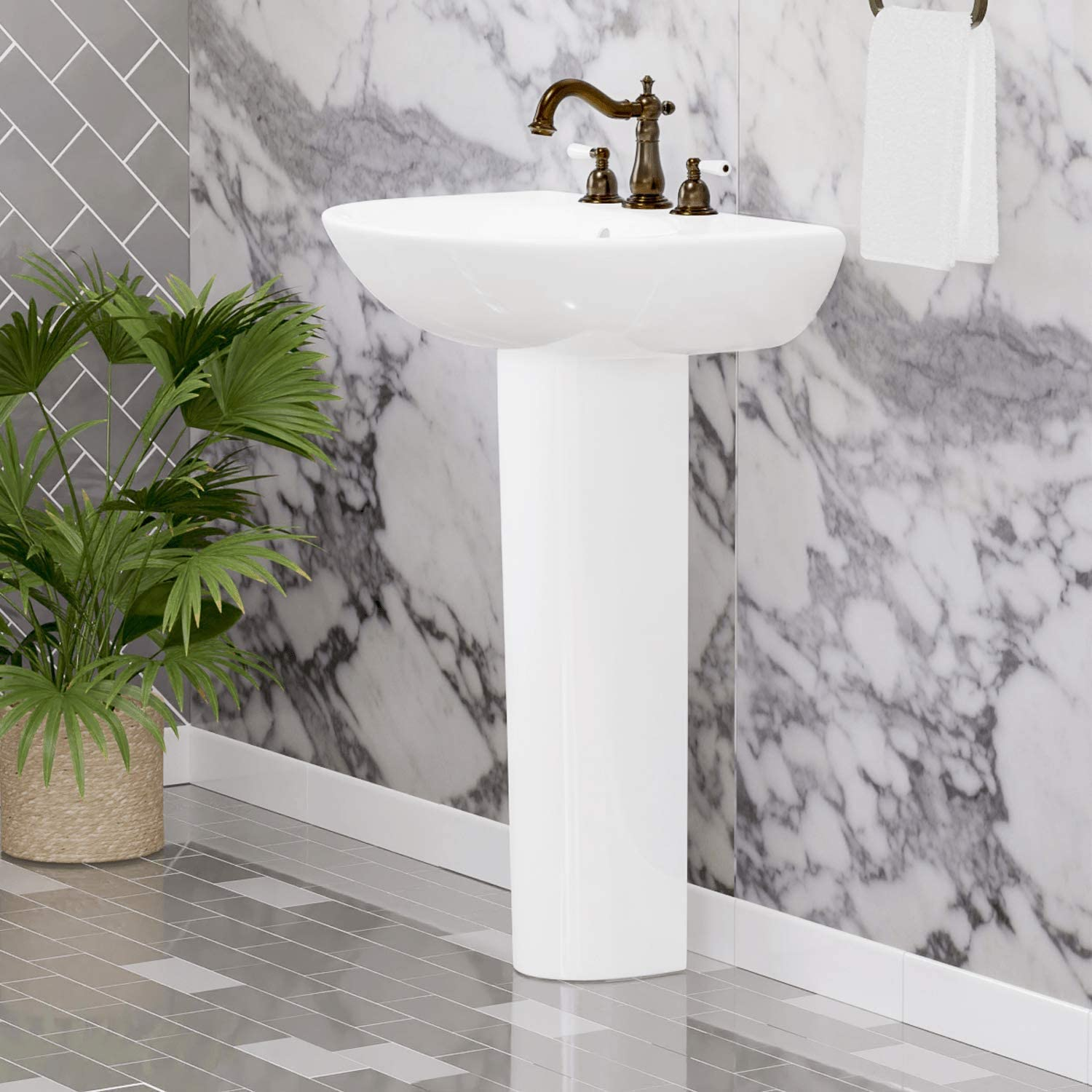 Magnus Home Products Aiken 200 Directly managed store China Special price Bathroom Vitreous Pedestal