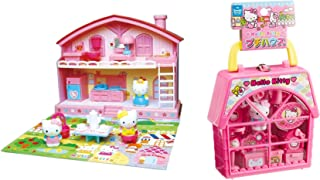 2 Hello Kitty House Sets - Petty House and Good Friends House (Japan Import)