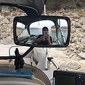 Attwood Corporation 13066-7 Clamp-On Ski Mirror