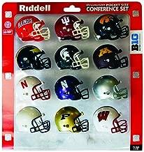 NCAA Big-10 Conference Pocket Pro Revoultion Mini Football Helmets