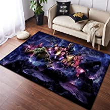 Rug Carpet The Avengers Marvel's Marvel Old Cartoon Living Room Play Room Bedroom Ball Baby Baby Crawling,140x200cm