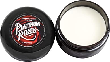 Platinum Rose Tattoo Butter for Before, During, and After the Tattoo Process - Advanced Organic Skin Care - Heals, Lubricates, Moisturizes and Repairs Skin 100% Natural and Organic Ingredients (2 oz)