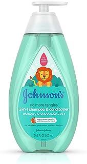 Johnson's Tear Free Detangling 2-in-1 Toddler & Kids Shampoo & Conditioner, 20.3 fl. oz