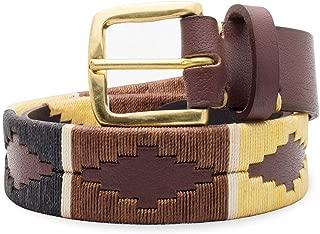 Mens Premium Hand-Stitched Leather Belt
