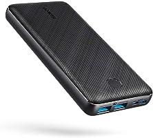 Anker PowerCore Essential 20000 Powerbank, 20000 mAh externe accu met PowerIQ-technologie en USB-C-ingang, enorme...