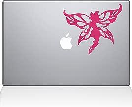 "The Decal Guru Winged Fairy Macbook Decal Vinyl Sticker  - 13"" Macbook Pro (2016 & newer) - Pink (1233-MAC-13X-BG)"
