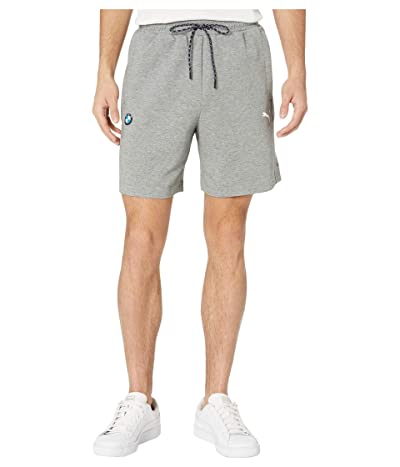 PUMA BMW MMS Sweatshorts (Medium Gray Heather) Men