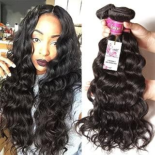 Unice 8a Remy Brazilian Natural Wave Hair 3 Bundles 100% Unprocessed Virgin Human Hair Extensions Weave Natural Color (14 16 18)