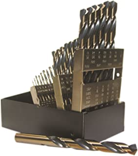 Viking Drill and Tool 44150 SP-29 Type 240-UB 135 Degree Split Point Magnum Super Premium Jobber Drill Set (29 Piece)