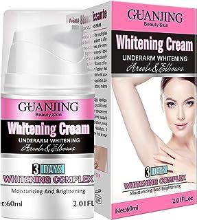 Underarm Lightening Cream, Instant Result, Whitening Cream Moisturizer for Armpit, Elbow, Knee, Intimate Parts and Sensiti...