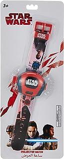 ساعة يد رقمية لشخصية لوكاس من فيلم ستار وورز للاولاد تعرض 10 انماط لشخصيات فيلم ستار وورز ايه - SA7003