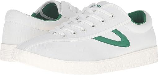 White/White/Green