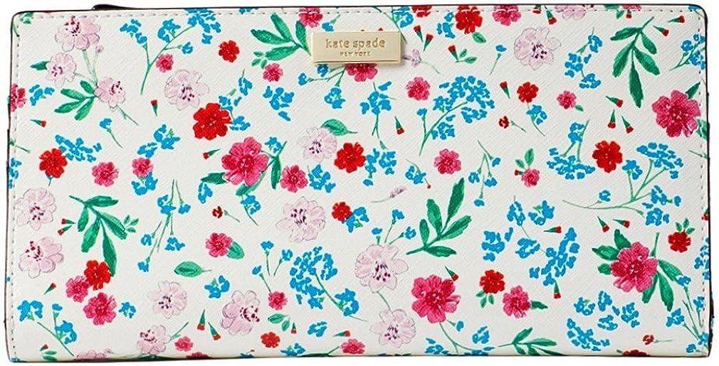Max 68% OFF Kate Spade Gardner Street Greenhouse Floral Cream Multi Wallet Surprise price -