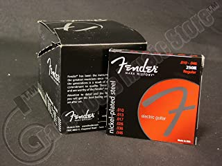 Fender 250R 10-46 Nickel Plated Steel Electric Guitar Strings 12 Sets