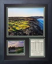 Legends Never Die Torrey Pines Golf Course I Moldura para fotos com colagem aérea, 28 x 35 cm