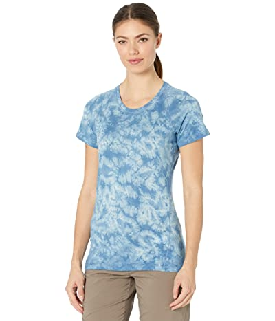Smartwool Merino 150 Baselayer Short Sleeve (Cloudy Blue Marble Wash) Women