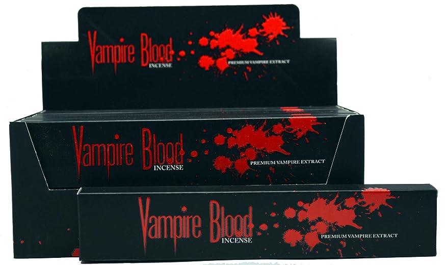 簡単な大陸直接Nandita Vampire Blood Incense Sticks Agarbathi?–?15?Gボックス ブラウン