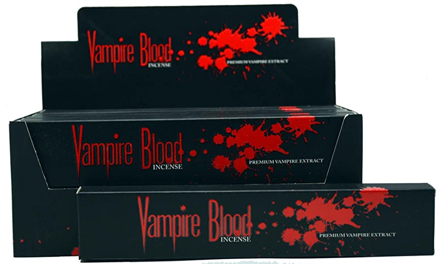胆嚢セール温帯Nandita Vampire Blood Incense Sticks Agarbathi?–?15?Gボックス ブラウン