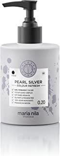 pearl silver colour refresh maria nila