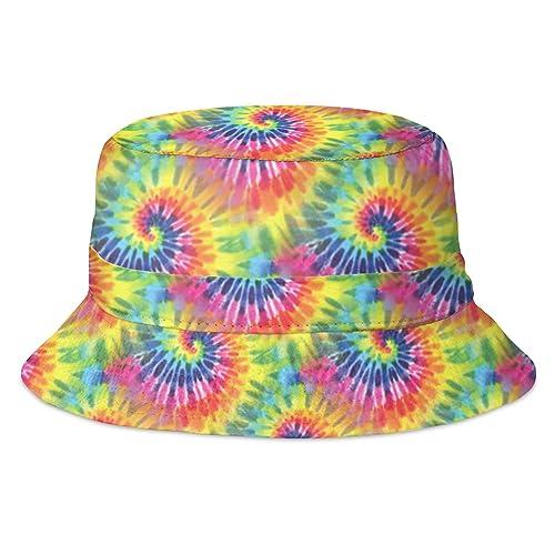 Men s Women s Hip Hop Bucket Bush Hat Summer Party Hat Funky Full Print  Fashion 10cfda87a6d0