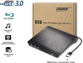 Blu-Ray OSST USB3.0 fin externe portable 6 X Blu-ray RW BD Graveur de CD DVD RW Graveur..