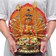Home Accessories Thousand-Handed Avalokitesvara Statue Decoration Nanhai Avalokitesvara Buddha Sitting Buddha Statue Home ...