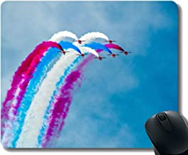 Mousepad Anti-Slip Mouse Pad,Smoke Airplane Airplane Flight Show Laptop Mouse pad Gaming Mouse pad