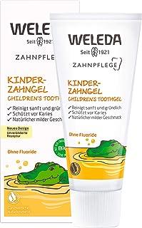WELEDA Kinder Zahngel, Naturkosmetik Zahncreme zur natürlichen Zahnpflege von..