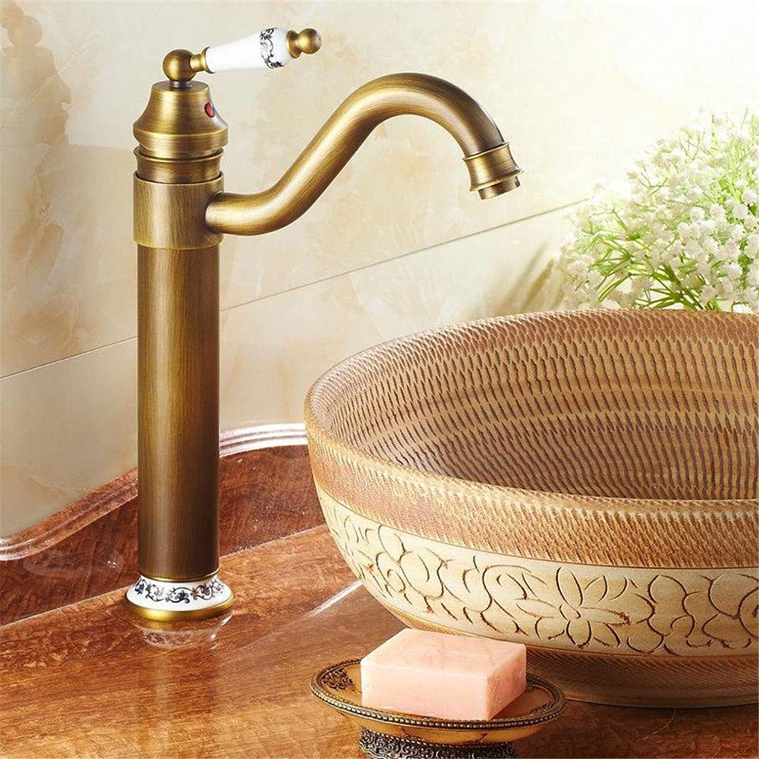 Decorry Kitchen Sink Bathroom Basin Faucets Brass Faucet Mixer Tap Swivel 9881 9882 9883 B