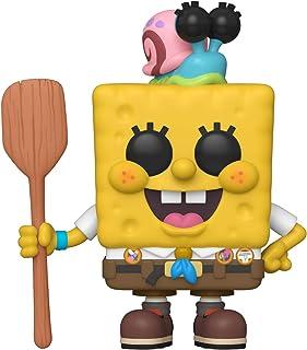 Funko Pop! Animation: The SpongeBob Movie - SpongeBob in Scout Uniform, Action Figure - 47164