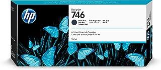 HP 746 Matte Black 300-ml Genuine Ink Cartridge (P2V83A) for DesignJet Z6 & Z9+ Large Format Printers