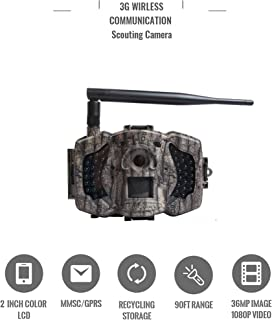 Boly MG983G 30MP 3G Wireless Trail Camera with Invisible IR
