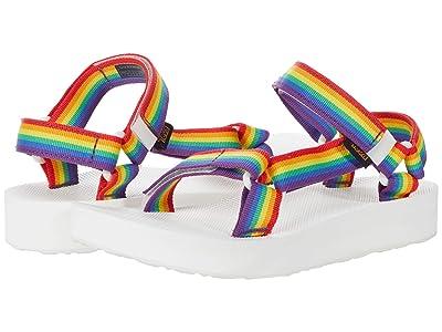 Teva Midform Universal Rainbow Pride (Rainbow/White) Women