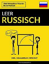 Leer Russisch - Snel / Gemakkelijk / Efficiënt: 2000 Belangrijkste Woorden