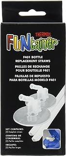 Thermos膳魔师 12盎司(约350毫升) Funtainer保温瓶吸管更换件 透明
