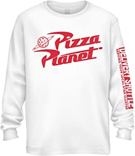 Toy Story Pixar Pizza Planet Delivery Express Long Sleeve Men's T-Shirt