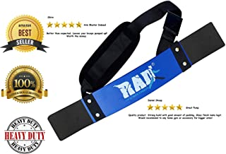RAD Heavy Duty Arm Blaster Bicep Isolator for Biceps & Triceps Curl Support Strength Training Arm Machines Arm Curl Bar Support for Weight Lifting