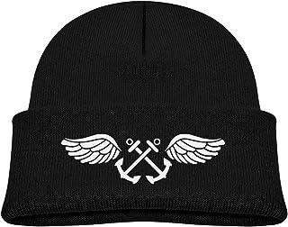 ADGoods Kids Children US Navy Aviation Boatswain'S Mate Rating Badge Beanie Hat Knitted Beanie Knit Beanie For Boys Girls ...