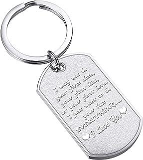 Couples Keychains Gifts Boyfriend Loving Gift Girlfriend Birthday Gift Husband Wife Anniversary Wedding Gift for Him Her I...