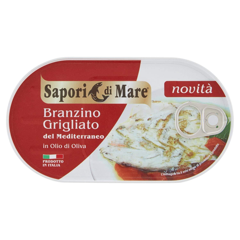 Sapori di Mare - Branzino Grigliato - Grilled Branzino 145 gr -