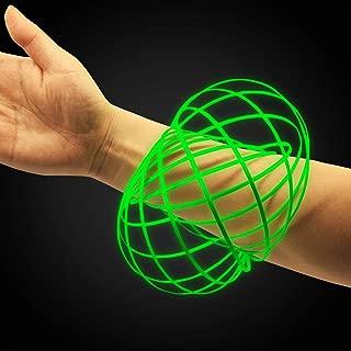 spinner glow in the dark green