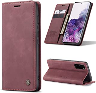 CaseMe/Samsung Galaxy S20+ Plus Case & Cover, Wallet Case with Kickstand & Card Slots, Flip and Fold Case for/Galaxy S20+ ...