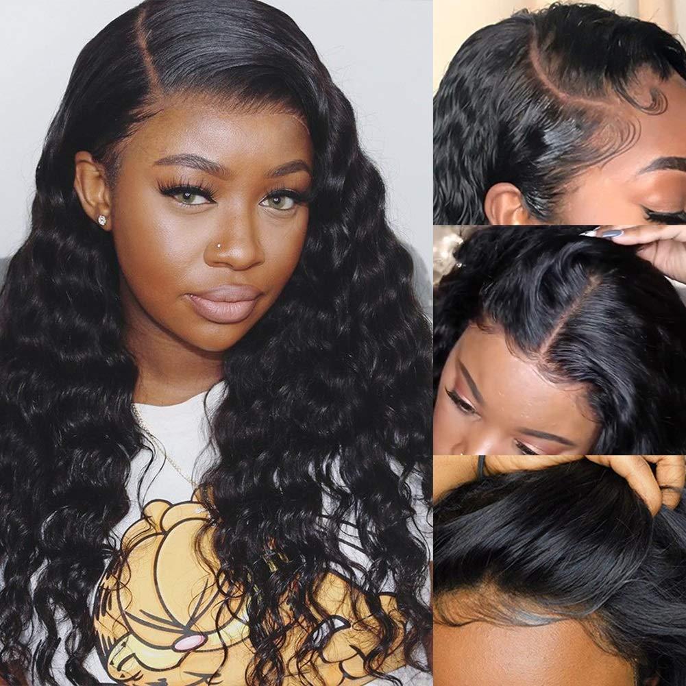 VIVI Product BABI Loose Deep Wave 13x4 Max 60% OFF Lace Transparent Human Hair Front