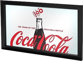 Trademark Gameroom 100th Anniversary of The Coca-Cola Bottle Framed Mirror