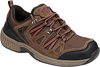 Orthofeet Proven Plantar Fasciitis, Foot Pain Relief. Extended Widths. Orthopedic Diabetic Walking Men's Shoes, Sorrento