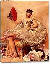Portrait of The Ballerina Rosita Mauri by Leon Francois Comerre - 17