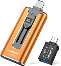 USB 3.0 Flash Drives 512GB, AUAMOZ Memory Drive 512GB Photo Stick Compatible with Smart Phone & Computers, Phone External ...