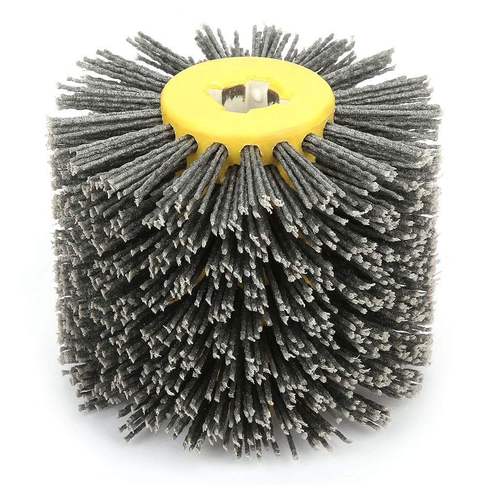KEYREN Polishing Wheel Sale special price Wire Poli Max 84% OFF Drawing Brush Burnishing