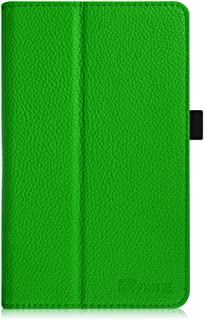 Fintie Premium Vegan Leather Case for ASUS VivoTab Note 8 M80TA Tablet (Windows 8.1) Slim Fit Stand Cover with Stylus Holder – Green